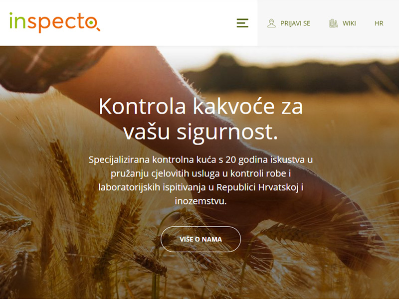 Inspecto - commodity inspection company with accredited laboratory in Osijek