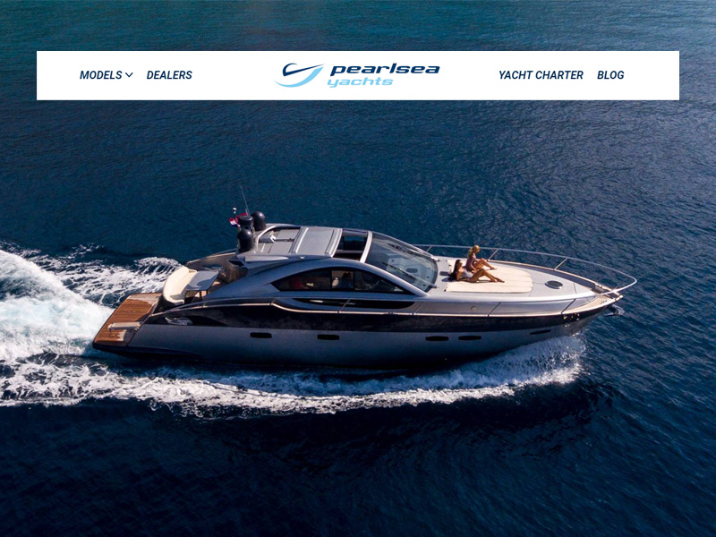 Pearlsea Yachts - Premium Croatian yacht manufacturer and yacht charter company in Zagreb